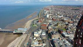 Blackpool stock video footage