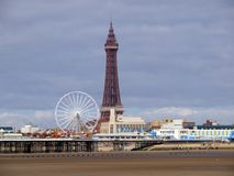 Blackpool wierza Obraz Royalty Free