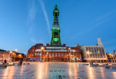 Blackpool wierza iluminacja Obraz Stock