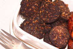 Blackpudding photo stock