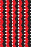 blackreddhjärtaprydnad Arkivbilder