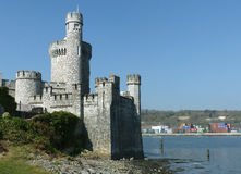 Blackrock castle built by Elizabeth 1 of England in 1857. The castle was built as a fortification on the the river Lee as protecti Royalty Free Stock Photography