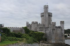 Blackrock Castle Cork Ireland side view Stock Images
