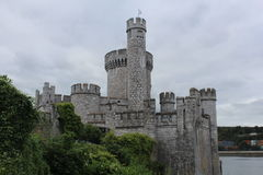 Blackrock Castle Cork Ireland side view Royalty Free Stock Photography