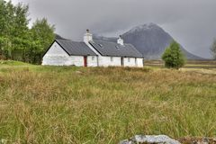 Blackrock Cottage Glencoe Stock Photography