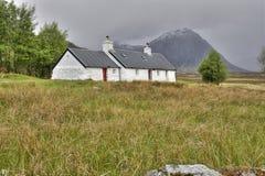 Blackrock Cottage Glencoe Stock Photography