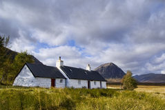 Blackrock Häuschen Schottland Stockfotografie