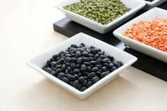 Blacks beans Royalty Free Stock Images