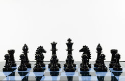 Blacks chess Stock Image