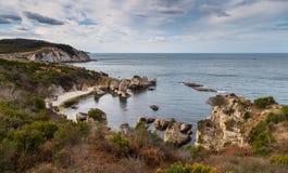 Blacksea wybrzeże Fotografia Stock
