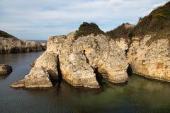 Blacksea wybrzeże Zdjęcia Royalty Free