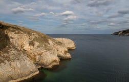 Blacksea wybrzeże Fotografia Royalty Free