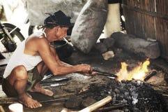 blacksmith традиционный стоковая фотография
