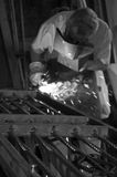 A blacksmith stock image
