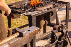 Blacksmith anvil Stock Photos