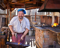 Free Blacksmith At Work Stock Image - 98651631