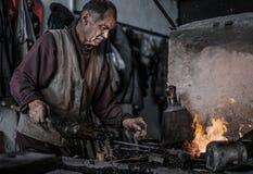 Blacksmith royalty free stock photo