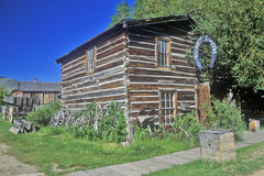 Blacksmith building in Ghost Town near Virginia City, MT Royalty Free Stock Photo