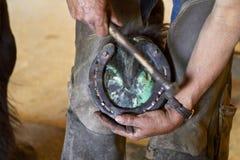 The Blacksmith Stock Image