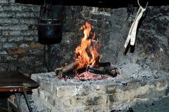 Blacksmith fire Stock Photo