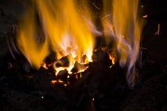 Blacksmith fire Royalty Free Stock Image