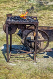 Blacksmith forge. Royalty Free Stock Photo