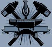 Blacksmith grzebień Obraz Royalty Free