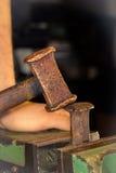 Blacksmith Kształtować Zdjęcie Stock