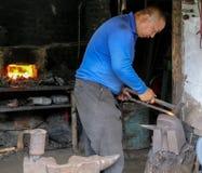 Blacksmith in liujiang town,sichuan,china Royalty Free Stock Photography