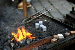 blacksmith narzędzia Obraz Stock