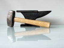 Blacksmith narzędzia Zdjęcia Royalty Free