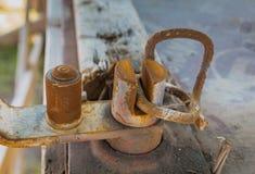 Blacksmith narzędzie zdjęcie stock