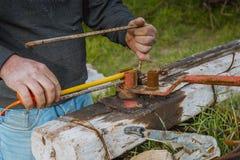 Blacksmith narzędzie obrazy stock