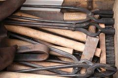 Blacksmith narzędzia Fotografia Stock