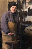 blacksmith praca Zdjęcie Stock