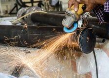 Blacksmith pracuje Zdjęcie Stock
