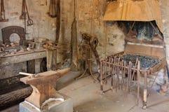 Blacksmith przy Starą Wilpena stacją - Wilpena funt Zdjęcia Stock