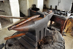 Blacksmiths anvil Royalty Free Stock Photos