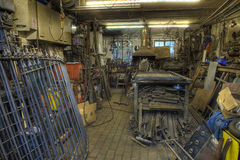 Blacksmiths forge Royalty Free Stock Photo
