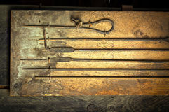 Blacksmith `s tools Royalty Free Stock Photo