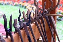Blacksmith's tools Stock Photography