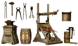 Blacksmith's tools Stock Photos