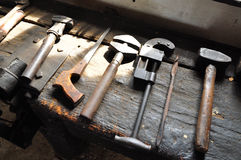 Blacksmith's tools Royalty Free Stock Image
