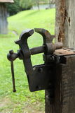 Blacksmith's vice Stock Photos