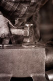 Blacksmith Shapes Hook Royalty Free Stock Image