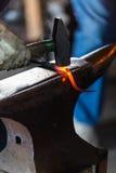 Blacksmith shop Stock Images
