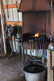 Blacksmith shop Royalty Free Stock Photos