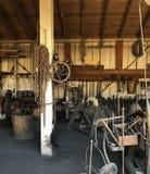 Blacksmith Shop Old Town stock photo