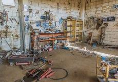 Blacksmith sklep obraz stock