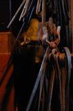 Blacksmith tongs Royalty Free Stock Photo